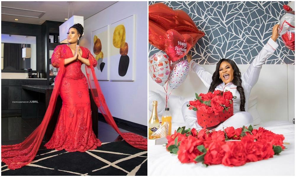Nkechi Blessing clocks 32, celebrates in amazing fashion statement (Photos)