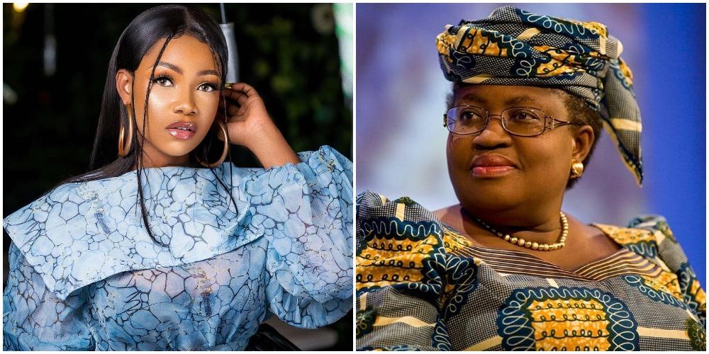 Tacha blast Nigerians celebrating Ngozi Okonjo-Iweala but disregard the girl child (Video)