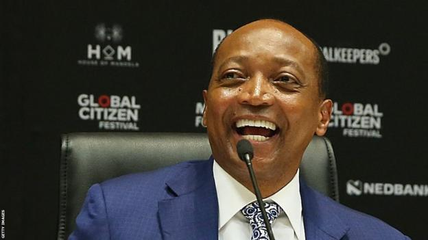 Patrice Motsepe, appointed as new CAF president