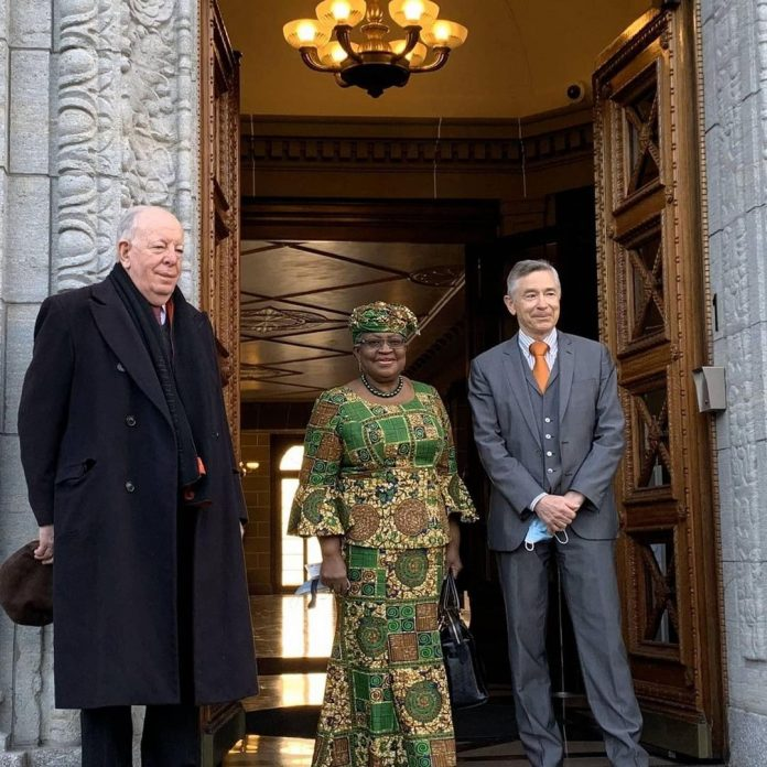 Photos of Dr Ngozi Okonjo-Iweala as she resumes office as WTO Director-General