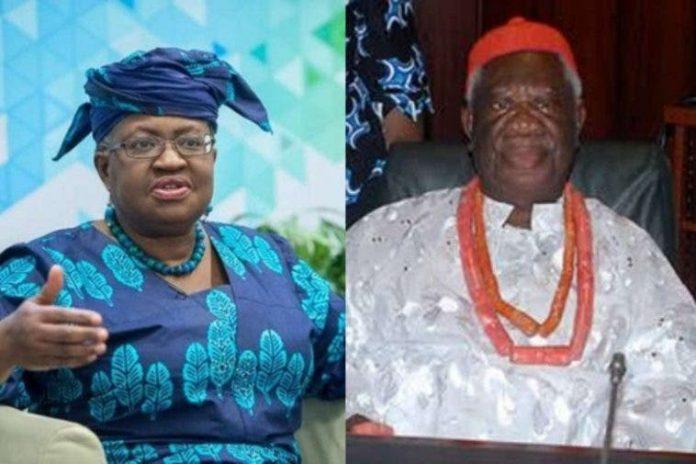 WTO, Director-General, Dr Ngozi Okonjo-Iweala's father , Professor Chukuka Okonjo,is dead