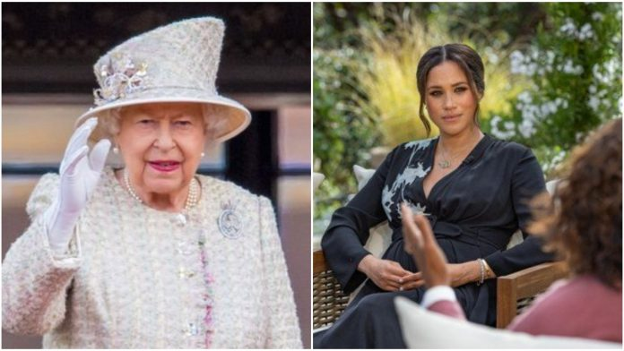 Royal family claims to be 'saddened' in first statement since Harry and Meghan Interview