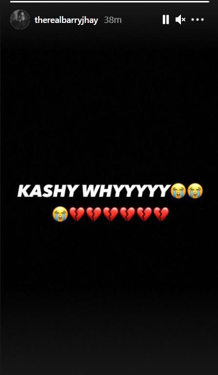 barry jhay react to Kashy Godson death