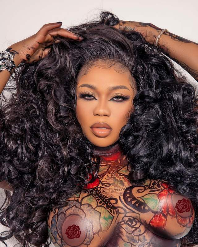 See the 4 million Naira Hair, Toyin Lawani rocked for her Birthday, says Cardi B inspired it (Video)