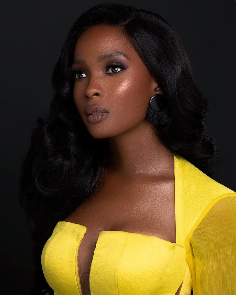 BBNaija 2021: Actress Jemima Osunde curses man who said Ebuka should be removed as host
