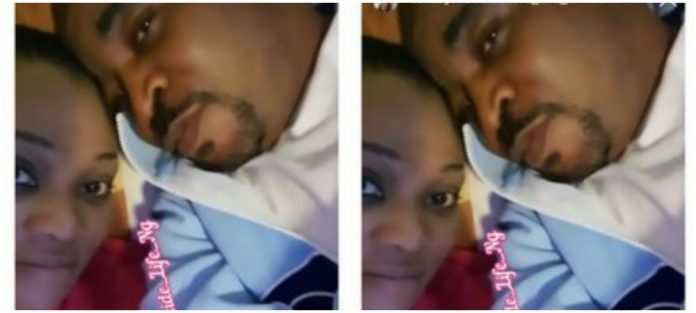 Ehi Ogbegbor celebrates lover MC Oluomo's birthday with video of themselves in bed
