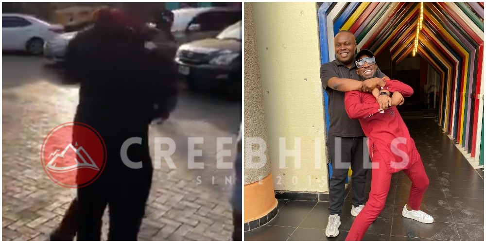 D'Banj and former manager, Bankuli reconcile years after their bitter fallout (Video)