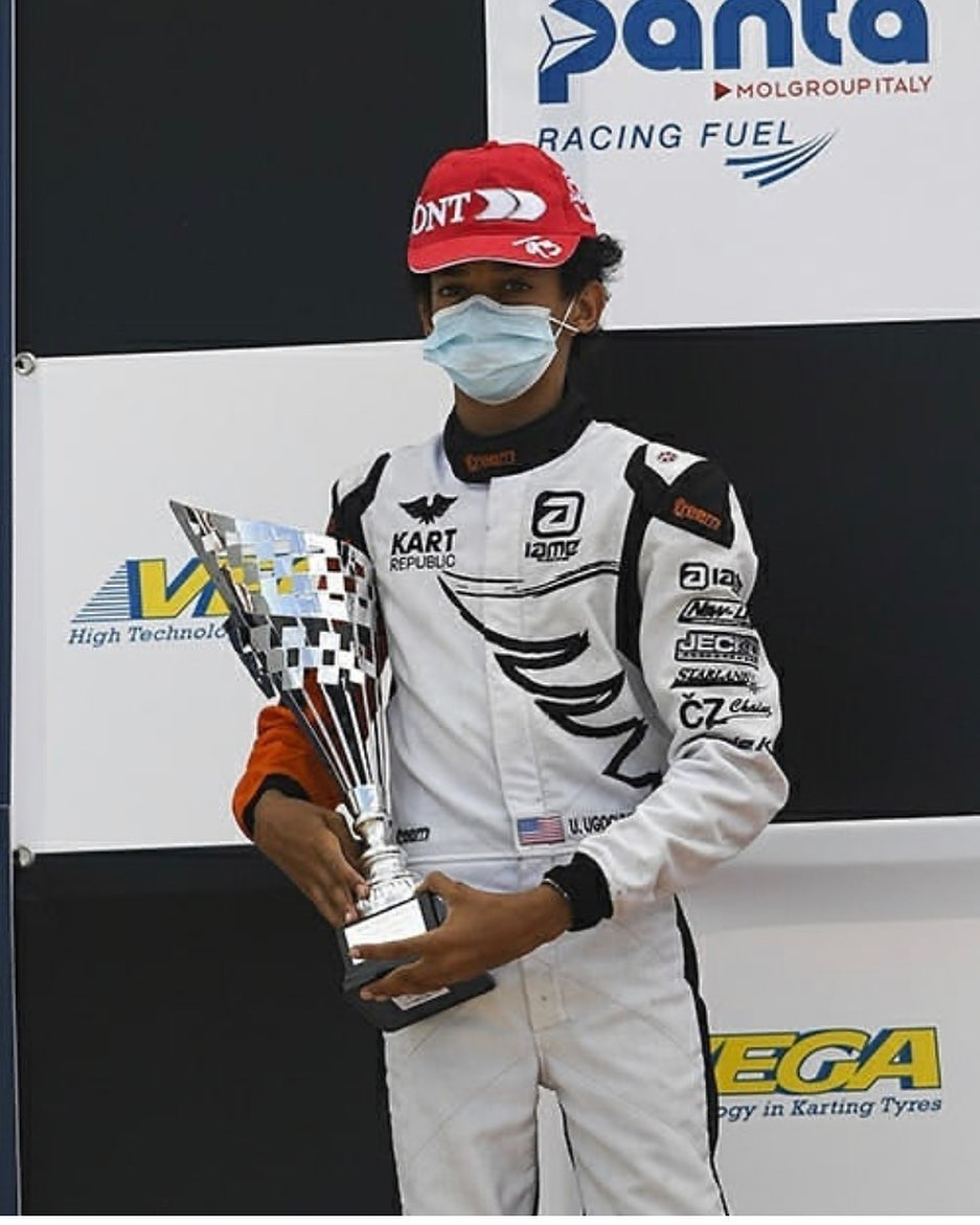 British Racing Team, McLaren signs 13-Year-Old karting champion, Ugo Ugochukwu
