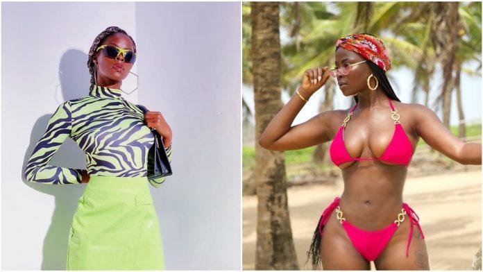 BBNaija Khloe shocks fans with amazing body transformation rocking a pink bikini (Photos)