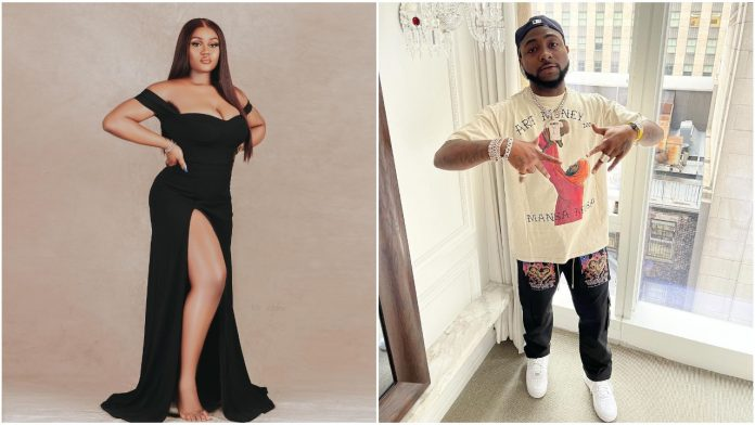 Check out Davido's message to his Baby mama, Chioma on her 26th birthday