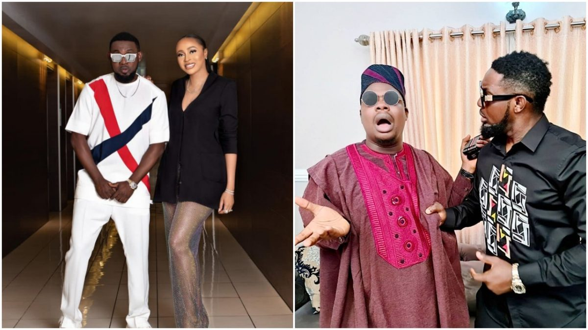 Comedian Ay drags Mr Macaroni for making advances at his wife scaled