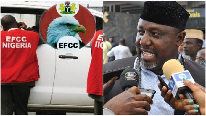 EFCC arrests former Imo state Governor Rochas Okorocha