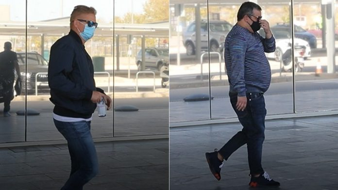 BREAKING: Erling Haaland's Father and Agent, Mino Raiola land in Barcelona (Photo/Video)