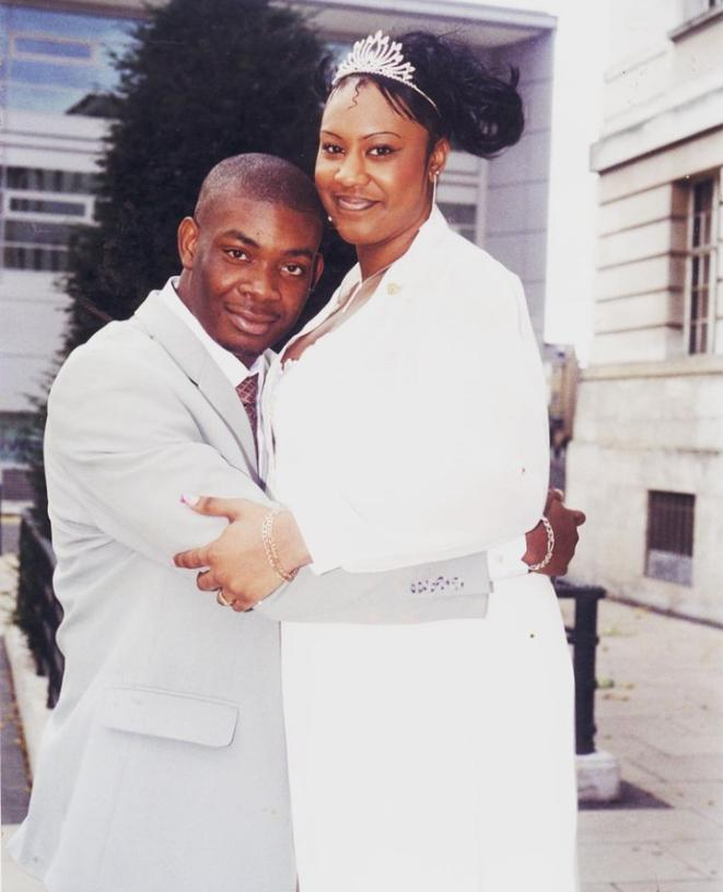 Don Jazzy and his wife Michelle