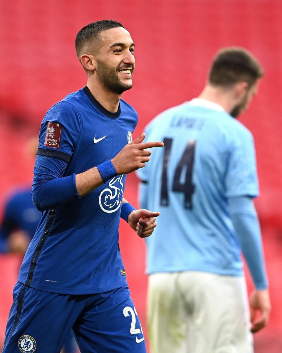 Chelsea dent Man. City hope of quadruple strolls into FA Cup final in style