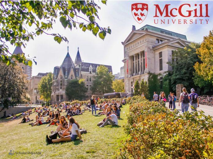 McGill University McCall MacBain Scholarships (Canada) 2021/2022