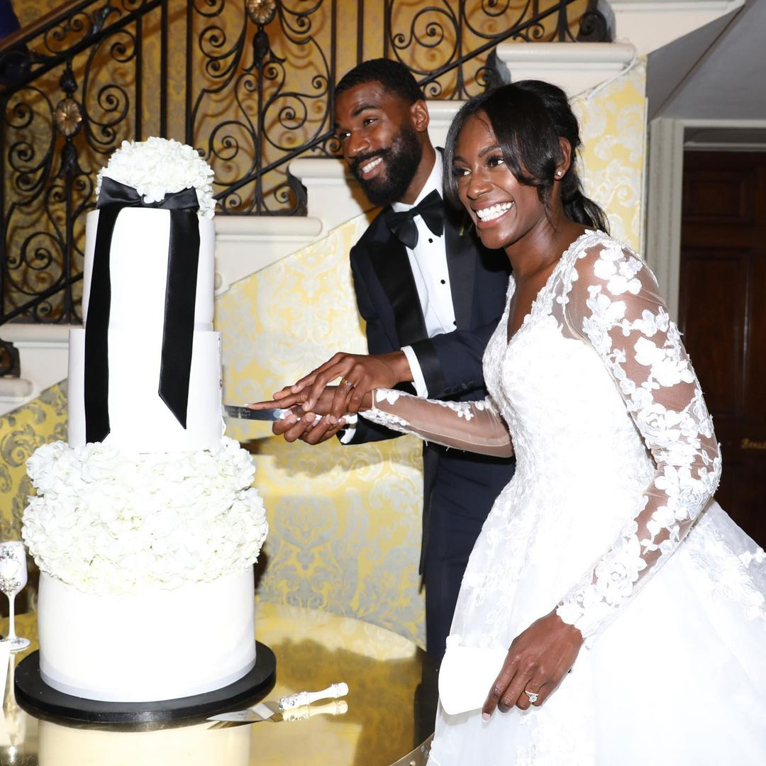 BBNaija's Mike Edwards and wife Perry celebrates 2nd wedding anniversary (Photos)