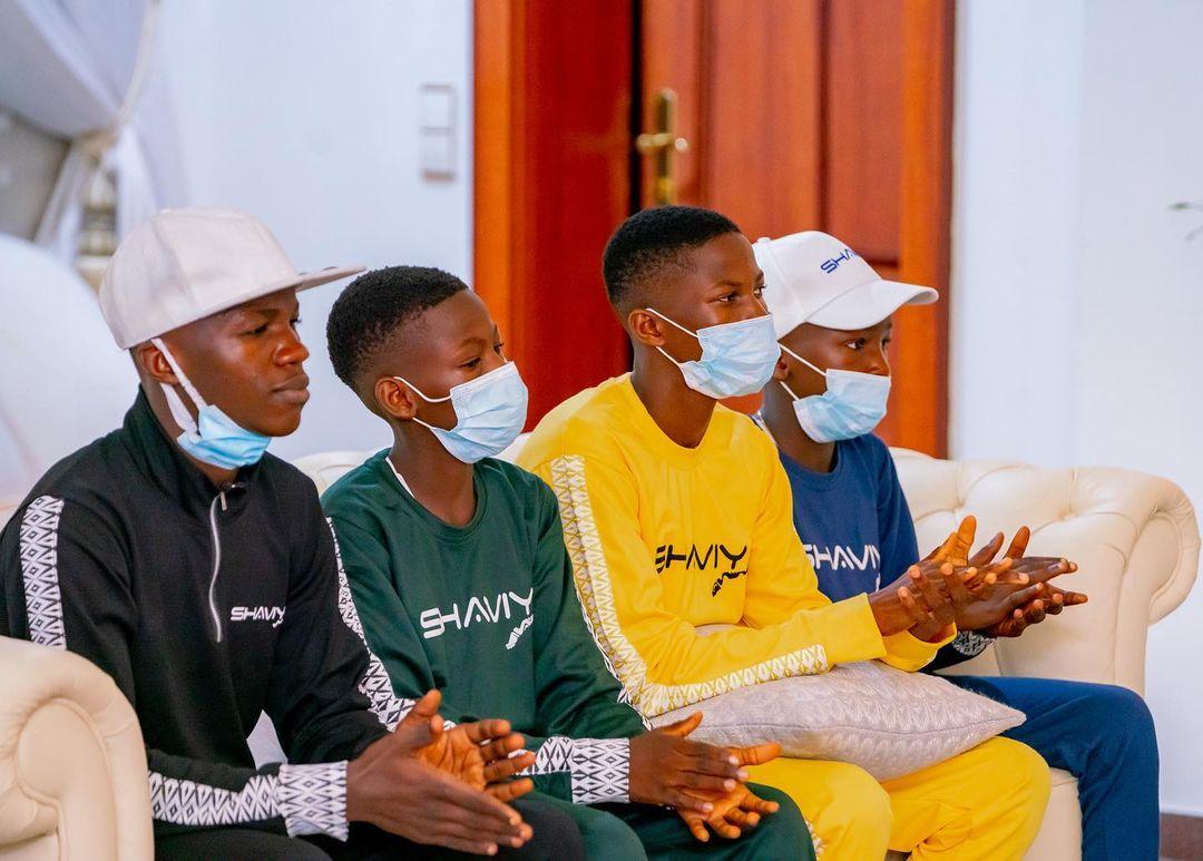 """""""Keep making us proud"""" - Gov. Sanwo-Olu heaps praise on teen comedians, Ikorodu Bois"""