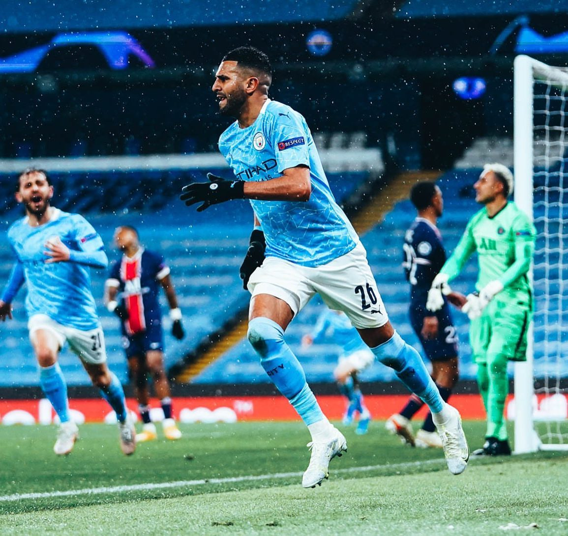 Manchester City thrash PSG to reach first ever UEFA Champions League final
