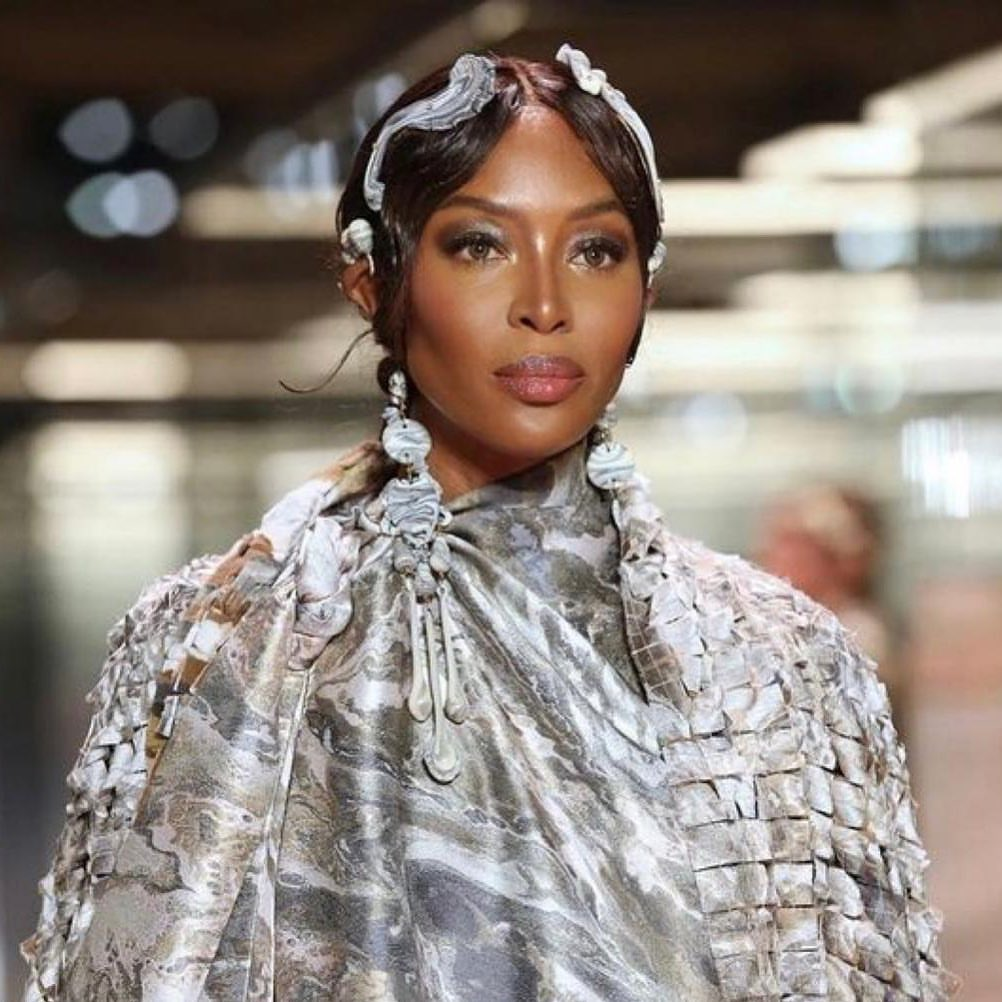 British model, Naomi Campbell welcomes first child at 50
