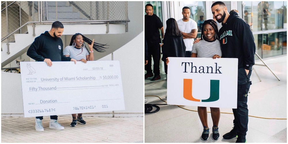 Lady bags Masters Degree months after receiving $50,000 in Drake's 'God's Plan' video
