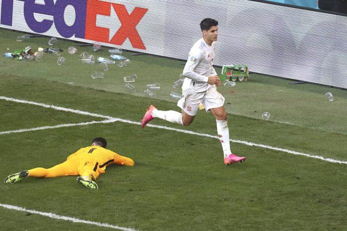 EURO 2020: Morata scores as Spain beats Croatia 5-3 in extra time