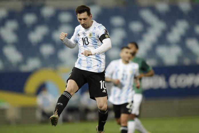 Messi breaks Argentina's record for caps at Copa America win (video)
