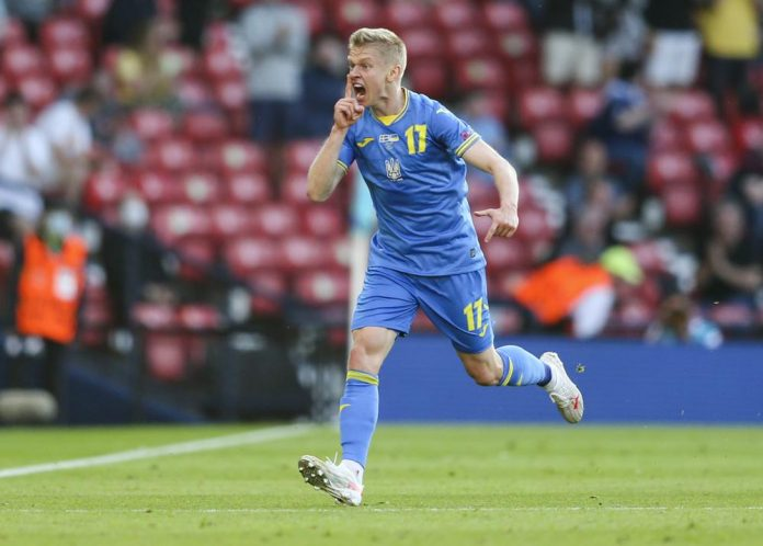 EURO 2020: Ukraine scores late in extra time, beats Sweden
