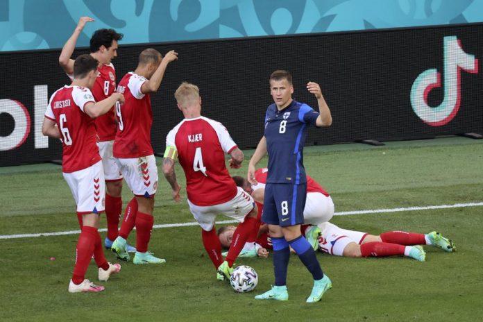 Euro 2020: Denmark Vs Finland suspended after Eriksen collapses