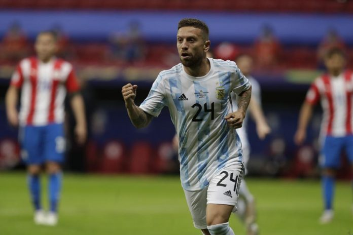 Argentina narrowly Defeat Paraguay to reach Copa America knockout stage