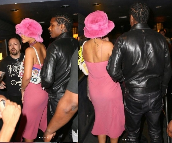 A$AP Rocky and his girlfriend, Rihanna denied entry into NYC Club (video)