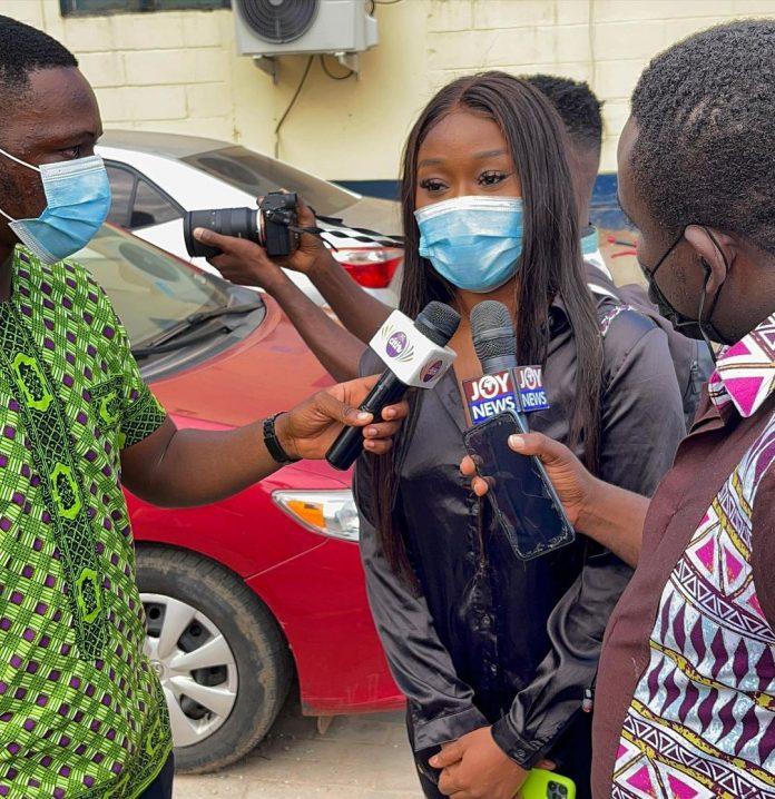#FixTheCountry activist, Actress Efia Odo granted Bail (video)