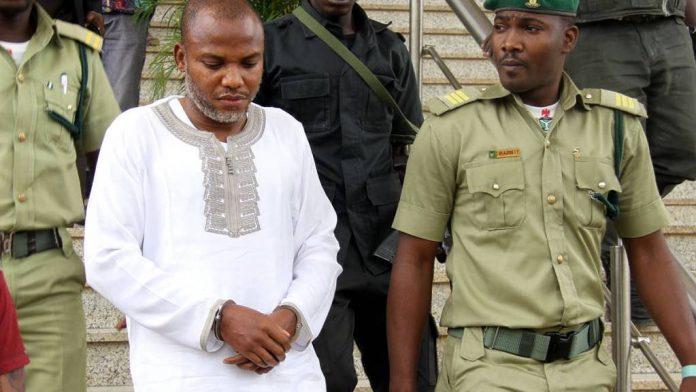 Nnamdi Kanu Arrest: Court grants DSS order to remand Nnamdi Kanu till July 26