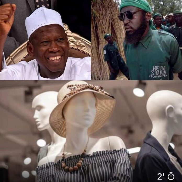 Kano Hisbah bans use of mannequins for display of clothes by tailors, boutique owners