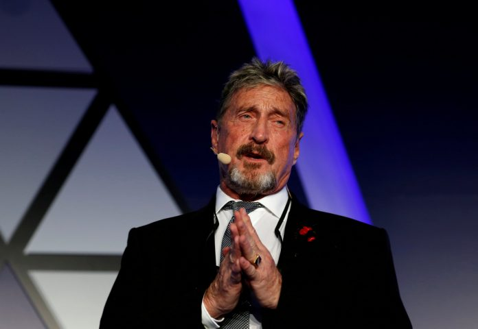 McAfee Antivirus Software Creator, John McAfee dies in prison, allegedly committed Suicide