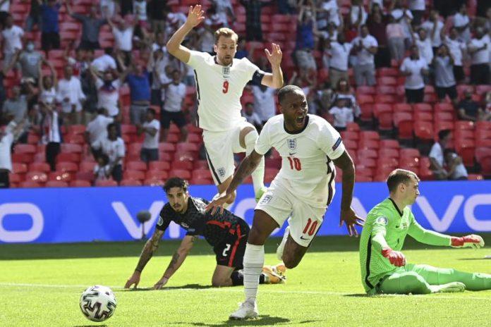 EURO 2020: England beats Croatia 1-0 as Sterling's dream now a reality