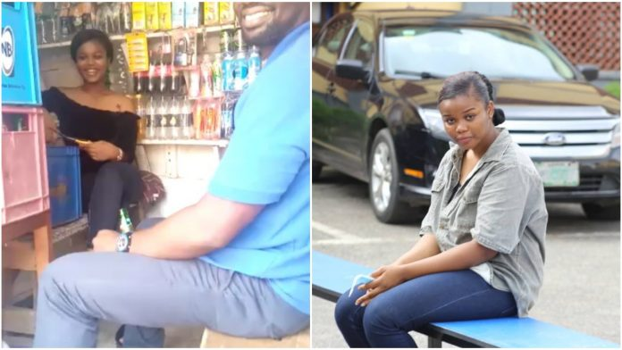 Watch Super TV CEO, alleged murderer, Chidinma in her shop at Alagomeji, Yaba