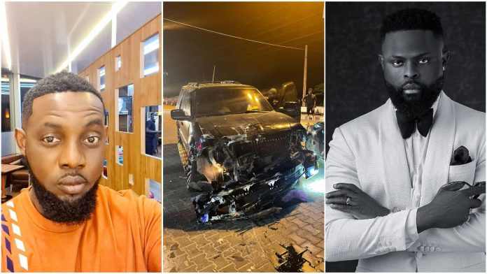 Comedian AY Makun reacts after his brother Yomi Casual survived ghastly accident