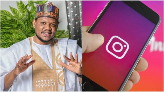 Crowwe Social media App founder, Adamu Garba's instagram account gets suspended