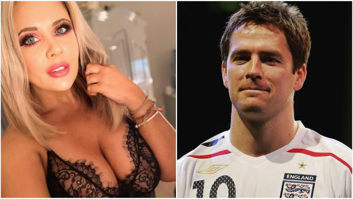 Michael Owen allegedly begged reality star, Rebecca Jane for topless photos