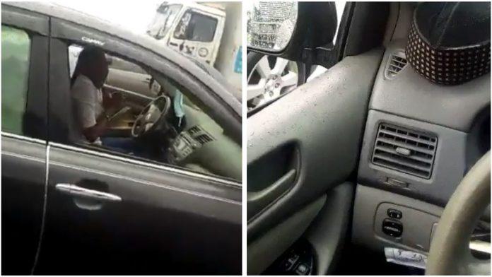 Eko Bridge: Armed Robbers, Robbing Civilians Broadway light inside the Traffic (video)