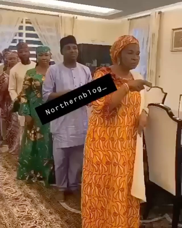 Watch Nasarawa state Ex-First Lady and her family perform the focus Dance (video)