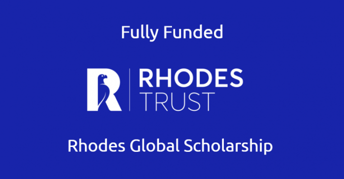 Rhodes Global Scholarships to Study in The UK 2021/2022