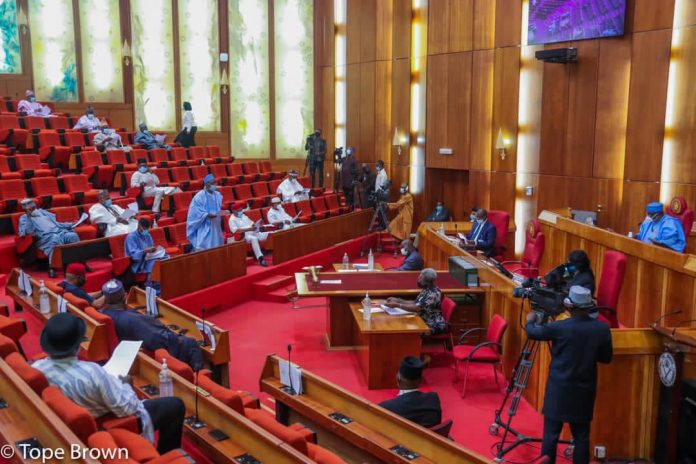Senators passes electronic transmission of results for INEC Elections