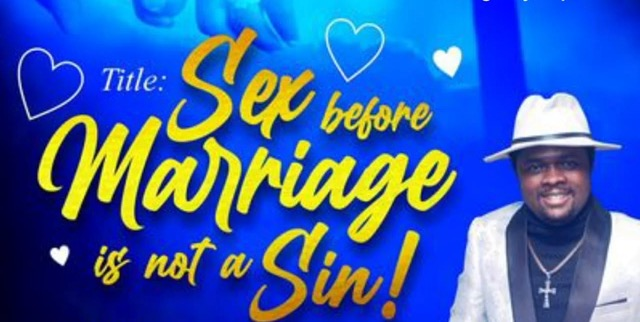 'Sex Before Marriage Is Not A Sin' - Pastor Olakunle Beloved (Video)