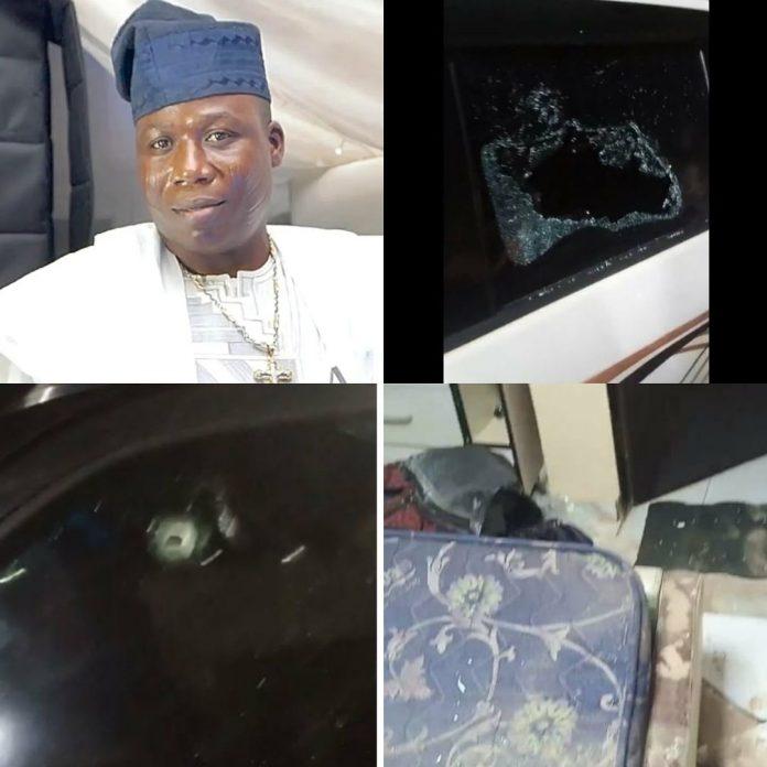 Yoruba activist, Sunday Igboho's Ibadan residence attacked