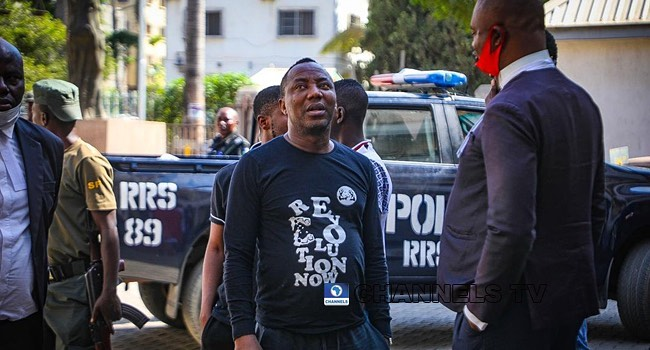 JUST IN: Revolution Now Convener, Sowore arrested at federal high court in Abuja