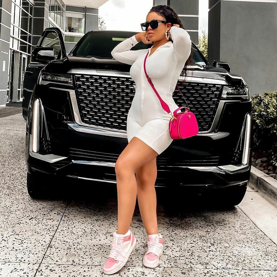 Reality TV star, Nina Ivy, flaunts her 'new body' one month after her surgery (Photos/Video)