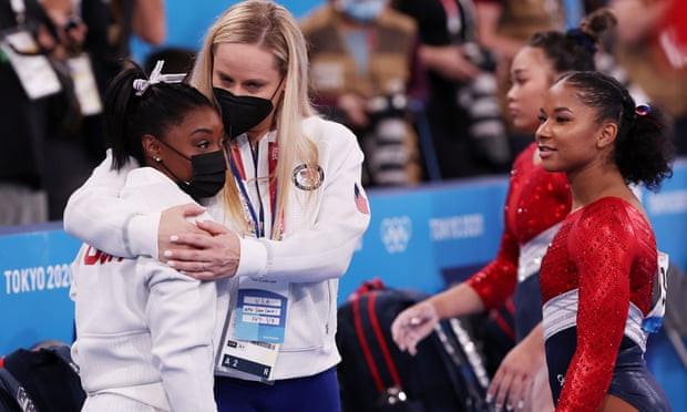 Simone Biles Withdraws from final Tokyo Olympics Team