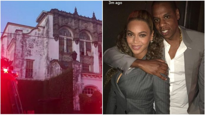 Fire outbreak at Beyoncé and Jay Z's New Orleans mansion (video)
